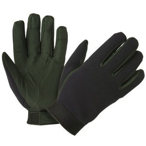 Hatch Black Winter Glove (Specialist Neoprene Gloves w/ Winter Lining, Black, Large)