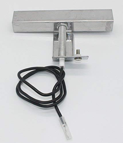 Grilling Corner Collector Box & Ignitor Electrode Assembly for Brinkmann 810-1750-S, 810-1751-S, 810-3551-0, 810-3885-S