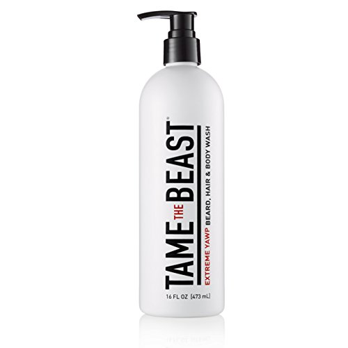 Tame the Beast Extreme Yawp Beard, Hair & Body Wash, 16 fl. oz.