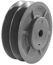 6.5 O 7//8 Bore D Double-Groove Variable Pitch Sheave 2VP65X7//8