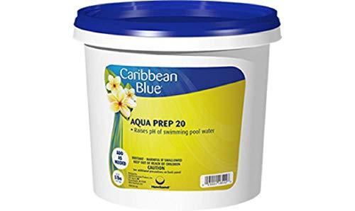 Caribbean Blue Aqua Prep 20 Swimming Pool pH Increaser Pool & Spa Chemicals (10 Lb)