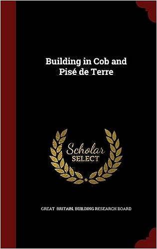Book Building in Cob and Pisé de Terre