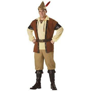 Adult Plus Size Premier Robin Hood Costume - Mens XXXL (54-56) (Maid Marian Adult Costume)