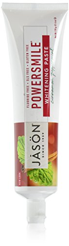JASON Powersmile Toothpaste, Cinnamon Peppermint, 6 Ounce