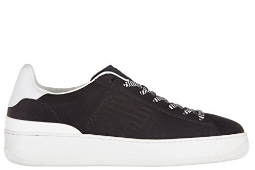 Hogan Rebel men's shoes leather trainers sneakers pure 86...