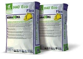 Collante adesivo minerale kerakoll h40 eco flex per piastrelle di