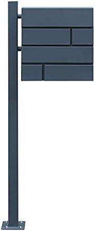 Briefkasten Wandbriefkasten Edelstahl Postkasten Letterbox 150cm Ständer