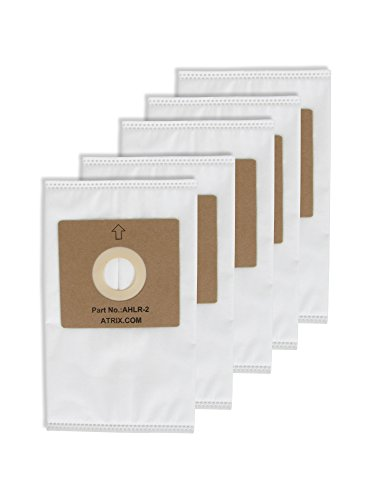Atrix - AHLR-2 5-Pack HEPA Replacement Filter Bags for AHSC-1 Lil' Red Vacuum (5 Pack Replacement Bags)