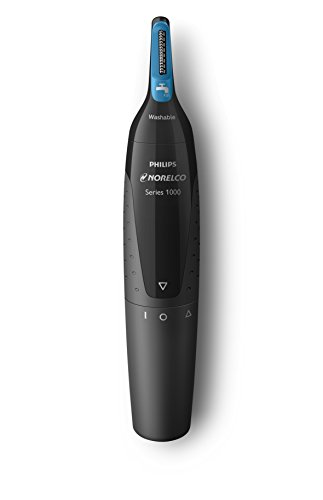 Price comparison product image Philips Norelco Nose trimmer 1500, NT1500/49, with 3 pieces for nose, ears and eyebrows