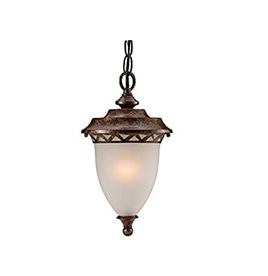 Hardware House H10-2812 Tristen Outdoor Fixture Hanging Light, Aged Bronze