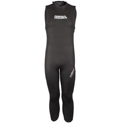 Profile Design 2014 Men's Wahoo Sleeveless Wetsuit - CLWS3103 (Black - S) by Profile Designs