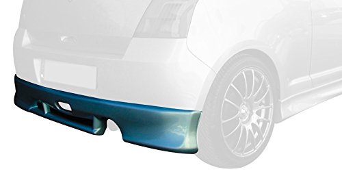 Rear bumper skirt Swift II 2005- excl. Facelift (ABS) Motordrome K115-002