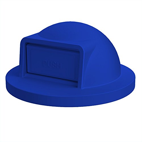 (Dome Top For 55 Gallon Drum   Blue)
