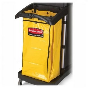 Rubbermaid High Capacity Vinyl (Rubbermaid Commercial Products High-Capacity Vinyl Bag, f/9T72,10-1/2