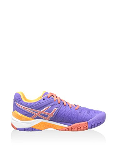 Corallo Viola Gel Resolution Da Arancione Donna 6 Scarpe Asics Tennis Ca8HxwwOq