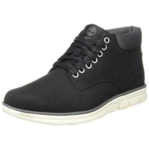 chollos oferta descuentos barato Timberland Bradstreet Leather Sensorflex Botas Chukka para Hombre Negro Nubuck 43 EU