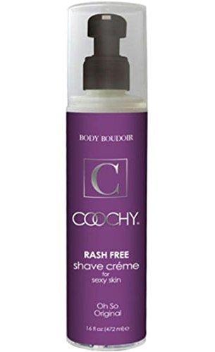 New Coochy Rash Free Body Bikini Shave Cream Oh so Original Scent Hair Soften Skin Moisturize 16 Oz Pump Bottle By Siamproviding