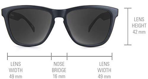 cec6118fb1 Knockaround Classics Non-Polarized Sunglasses (Black on Black Smoke ...