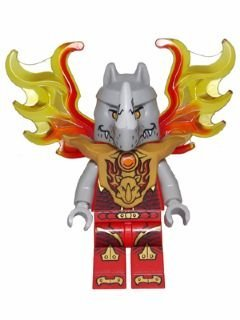 LEGO Minifigure - Legends of Chima - ROGON with Flame Wings