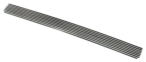 Paramount Restyling 31-0107 Overlay Billet Bumper Grille with 4 mm Horizontal Bars, 1 Piece