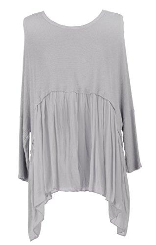 TEXTUREONLINE - Camisas - para mujer Pale Gris