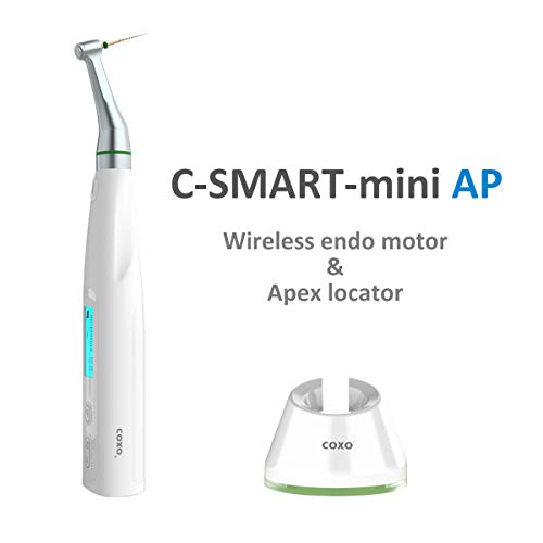 COXO C-Smart Mini AP Dental Wireless Motor, Dental endo Motor and Apex Locator, Two in one, Reciprocation System…