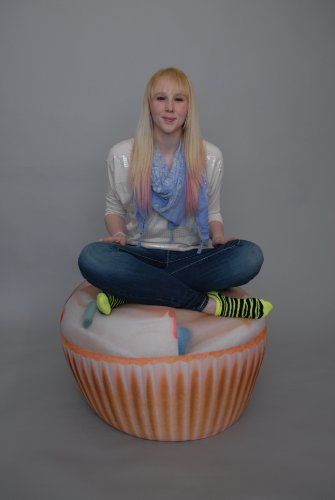 Wow! Works Cupcake Junior Beanbag Chair (86820J)