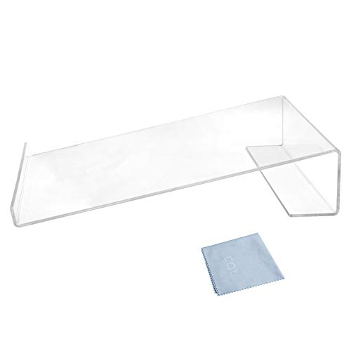 Combination of Life Acrylic Large Angled Ergonomic Printing Calculator Stand Clear 9-1/8 x 11-1/4 x 2-3/8 inches (Angled Calculator Stand)