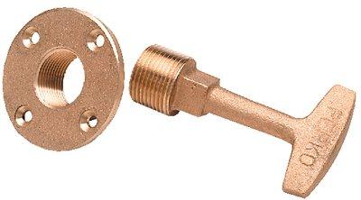 Perko 0266DP0PLB garboard drain plug 3/4 ()