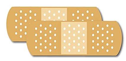 Amazon com: Band Aid Car Magnets, 2 Pack 3 x 8 Flag