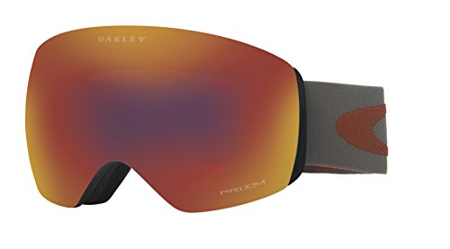 - Oakley Men's Flight Deck Snow Goggles, Iron Brick, Prizm Torch Iridium, Large