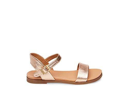 Steve Madden Women's Dina Rose Gold Sandal 5.5 ()