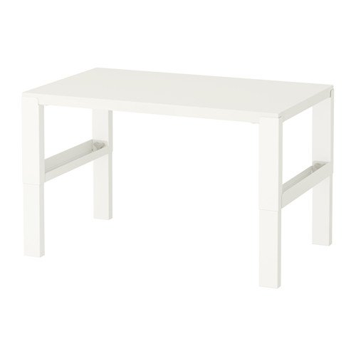 Ikea Childrens Desk, Adjustable (White) by IKEA