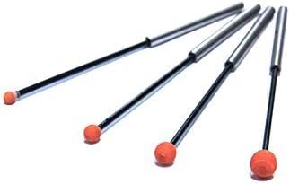 【バリ取り砥石】セラミック 砥石 バリ取り 工具 研磨 φ3#400相当XEBEC ストーン 弾性シャフト 球タイプ CH-PO-3B