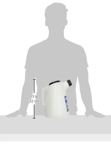 Jarra de pl/ástico graduada color blanco 5 litros Laser 3842