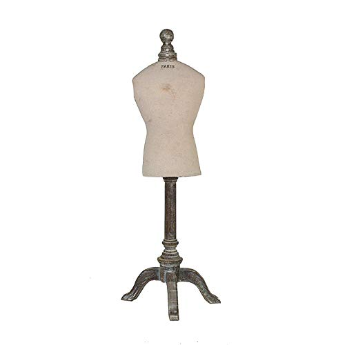 Creative Co-op Resin & Wood Vintage Reproduction of Mannequin, 26