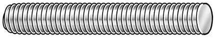 Threaded Rod Carbon Steel 3/8-24x2 ft