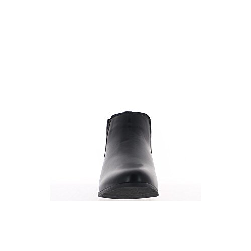 Stivali bassi donna nera tacco 2,5 cm