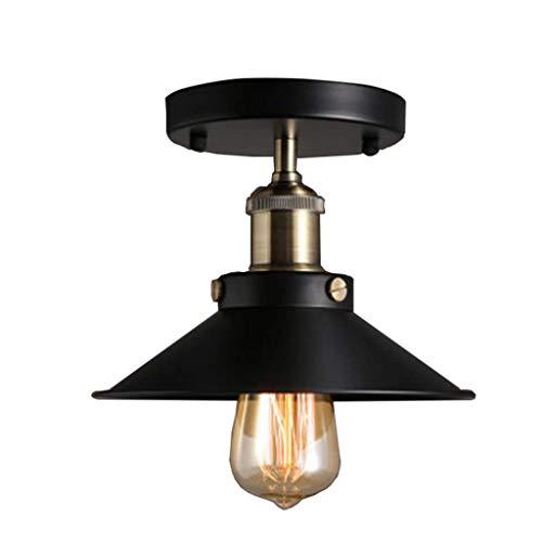 SGWH ® Retro lámpara de Techo de Hierro Forjado balcón ...