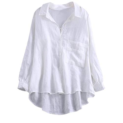 white Donna Sleeve Camicia Mounter Long SPIqXnw