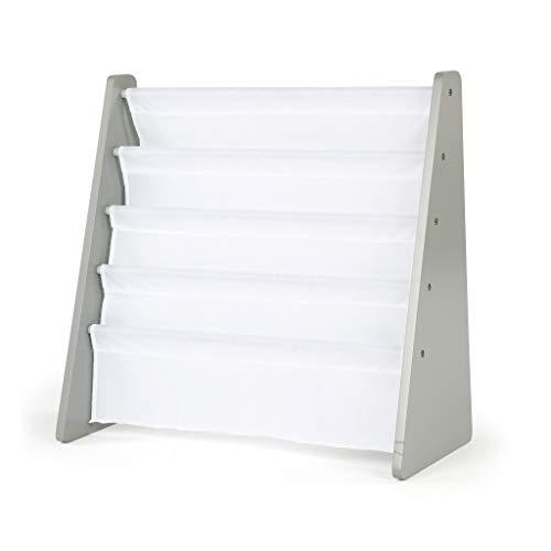 Tot Tutors WO671 Book Rack, Grey/White (Renewed) (Kindergarten Bookcase)