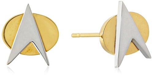 Star Trek Stainless Steel Stud Earrings ()