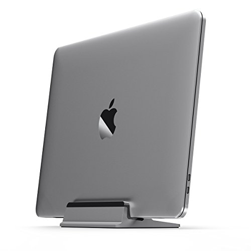 UPPERCASE KRADL Small Profile Aluminum Vertical Stand for - Small Apple Laptop Macbook Pro