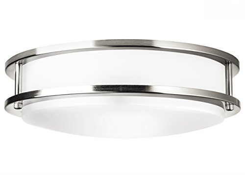 Hyperikon LED Flush Mount Ceiling Light, 14'', 100W equivalent, 1980lm, 4000K (Daylight Glow), 120V, 14-Inch, Dimmable by Hyperikon (Image #2)
