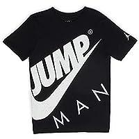 Nike JDB Jumpman Street Team - Camiseta Jordan, para niño, color negro