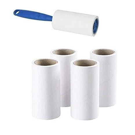 Ikea - Levapelucchi con 4 teste di ricambio adesive, rimuove facilmente e velocemente peli di animali, polvere e lanugine da vestiti, mobili e sedili dell'auto.