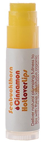 Living Libations - Organic / Wildcrafted 'Lover Lips' Lip Balm (Cinnamon Seabuckthorn, 2-pack) Cinnamon Essential Oils Lip Balm