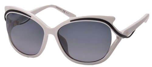 Dior 9OG White Audacieuse 2 Cats Eyes Sunglasses Lens Category - White Sunglasses Dior