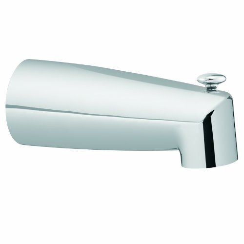 Moen 3830 Tub Diverter Spout, Chrome