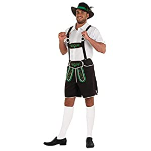 fun shack Mens & Womens Bavarian Costumes Adults German Lederhosen Oktoberfest Outfits
